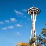 空间针在西雅图 免版税库存照片