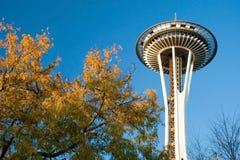 空间针在西雅图 库存图片