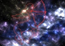 空间,星云,星,星系,天空,夜,星,蓝色,摘要,天文,波斯菊,宇宙,光,黑暗,星座,云彩, fa 免版税图库摄影