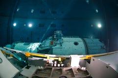 空间佩戴水肺的潜水 免版税库存图片