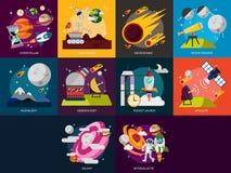空间和宇宙 免版税库存照片