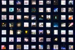 空间图象的汇集 库存图片