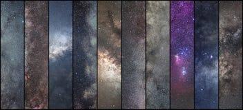 空间拼贴画 天文拼贴画 天体摄影拼贴画 宇宙 库存照片
