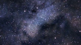 空间旅途无缝的圈 影视素材