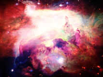 空间星云 库存例证
