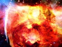 空间星云 免版税库存照片