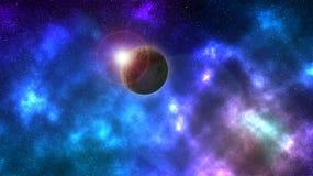 空间星云 免版税库存图片