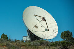 空间月亮占领天线在Carnarvon澳大利亚 免版税库存图片