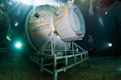 空间潜水 图库摄影