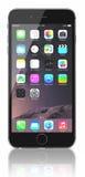 空间灰色iPhone 6 免版税库存照片