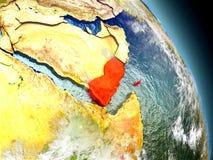 从空间的也门 向量例证
