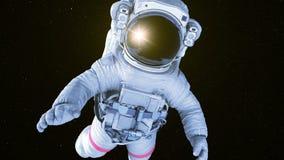 空间的宇航员 向量例证