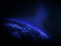 从空间的行星 库存照片