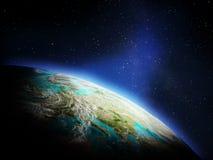 从空间的行星 免版税图库摄影