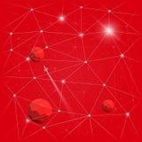 空间背景01 免版税图库摄影