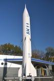 空间运输和蓝天 免版税图库摄影