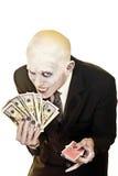 穿上赌博知道t,除非您的情况 免版税库存图片