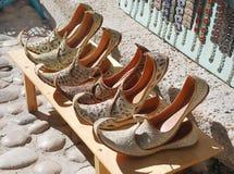 穿上鞋子土耳其 免版税库存照片