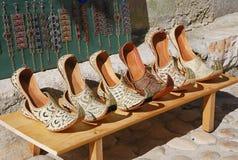 穿上鞋子土耳其 库存图片