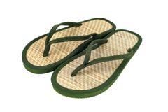 穿上鞋子夏天 库存照片