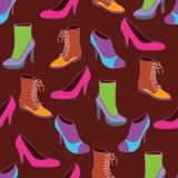 穿上鞋子时髦 免版税库存照片