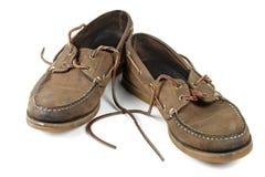 穿上鞋子破旧 免版税库存图片