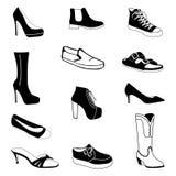 穿上鞋子#2 库存例证