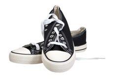 穿上鞋子kommersy 库存照片