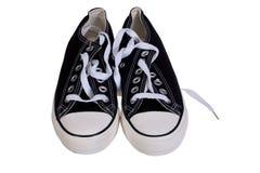穿上鞋子kommersy 库存图片