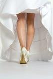 穿戴婚礼 免版税库存图片