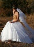 穿戴婚礼 免版税图库摄影