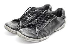 穿的鞋子 库存照片