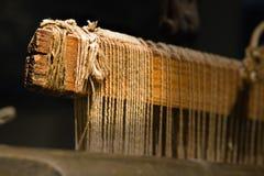 穿线的织布机 免版税库存图片
