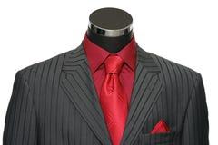 穿戴的时装模特陈列室诉讼 免版税库存照片