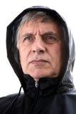 穿戴的雨 免版税库存图片