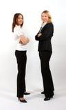 突出二名妇女的商业 免版税图库摄影
