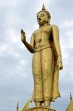 突出在Hatyai的Budha 免版税图库摄影