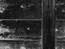 突出污点和五谷的木头被操作的板条  免版税库存照片