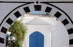 突尼斯。西迪布赛义德 库存图片