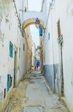 突尼斯麦地那破旧的房子  库存图片