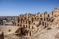 突尼斯,罗马剧院 免版税库存图片