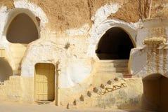 突尼斯,非洲- 2012年8月03日:影片的风景 库存图片