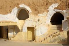 突尼斯,非洲- 2012年8月03日:影片的风景 免版税库存照片