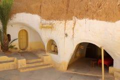 突尼斯,非洲- 2012年8月03日:影片的风景 图库摄影