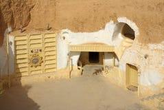 突尼斯,非洲- 2012年8月03日:影片的风景 免版税库存图片