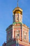突然显现修道院莫斯科俄国 库存图片