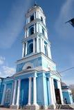 突然显现大教堂,在1876年建造 Noginsk 俄国 免版税库存图片