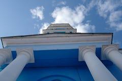 突然显现大教堂,在1876年建造 Noginsk 俄国 库存照片