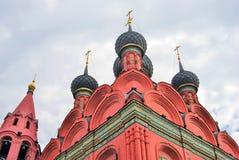 突然显现教会在雅罗斯拉夫尔市(俄罗斯) 图库摄影