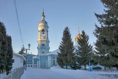 突然显现教会在Kolomna,建立在16世纪 免版税库存照片